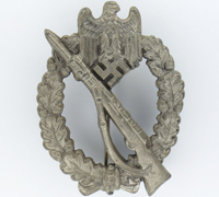 Silver Infantry Assault Badge by RS