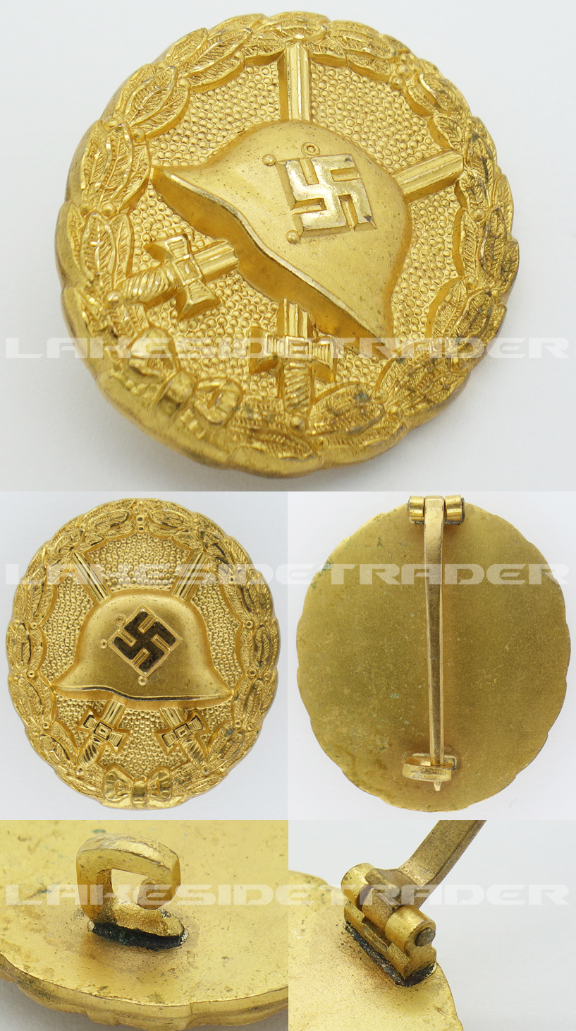 Minty Condor Legion Gold Wound Badge
