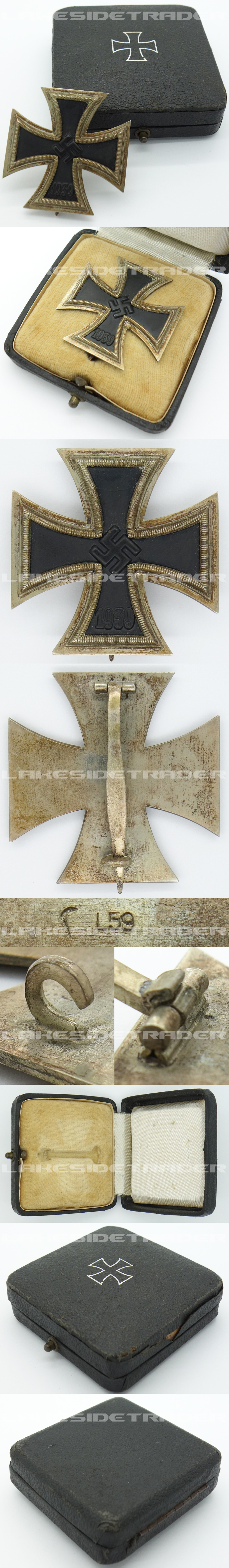 Cased 1st Class Iron Cross by L59