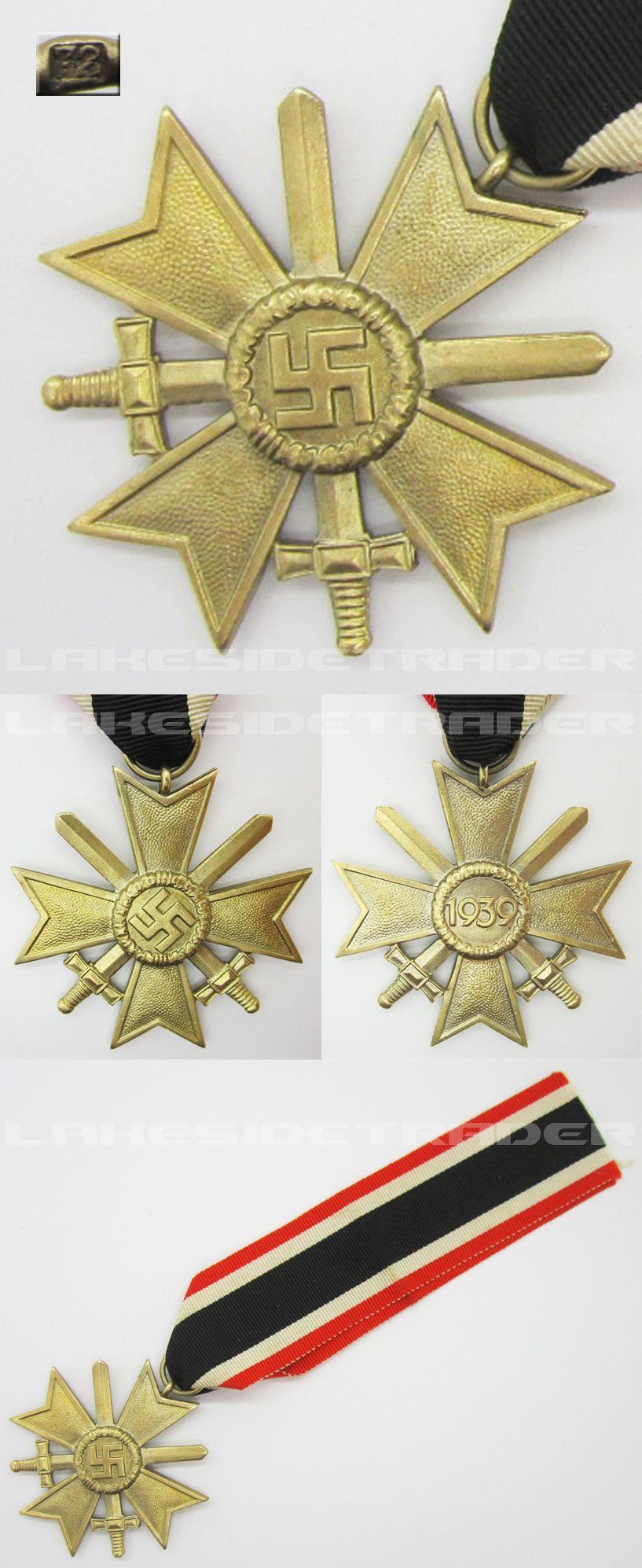 2nd Class War Merit Cross by 72
