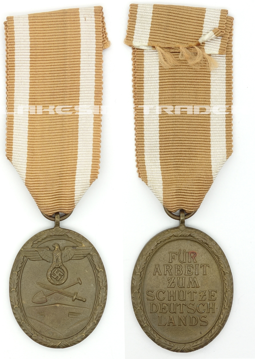 West Wall Medal in Tombak