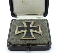 Very interesting Cased 1st Class Iron Cross