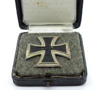 Very interesting Cased 1st Class Iron Cross