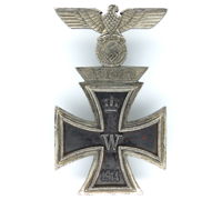 1st Class Iron Cross 1914 and Spange 1939 Combo