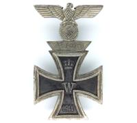 1st Class Iron Cross 1914 and Spange 1939 Combo