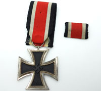 Iron Cross 2nd Class with Ribbon Bar