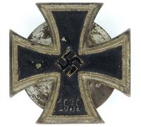 1st Class Iron Cross by Petz & Lorenz