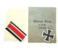 2nd Class Iron Cross in packet