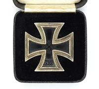 Cased 1st Class Iron Cross by C. E. Juncker