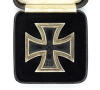 Cased 1st Class Iron Cross by C. E. Juncker