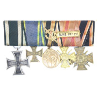 5 Place Medal Bar to Veteran with Navy Service