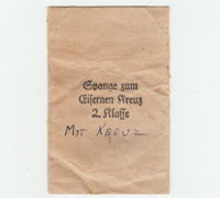 2nd Class Spange Packet by Ludwig Bertsch