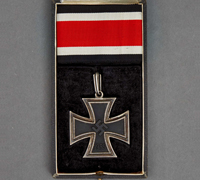 A Knights Cross Iron Cross 1939 by Juncker in its Original Case of Issue