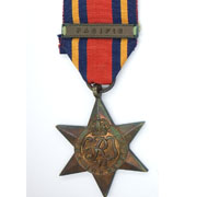 British Burma Star with Pacific Bar