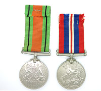 British Defense and War Medal 1939-45