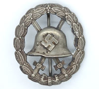 Cut-out Silver Condor Legion Wound Badge