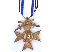 Bavarian Military Merit Cross 3rd Class with Swords 1866