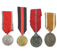 4 Campaign Medals