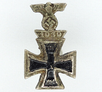 Miniature 1st Class Iron Cross 1914 and Spange 1939 Combo