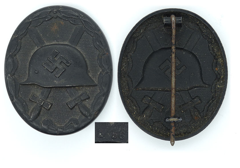 Black Wound Badge by L/56