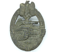 Bronze Panzer Assault Badge by Frank & Reif