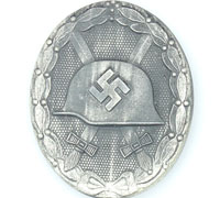 Silver Wound Badge by 65