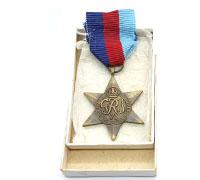 Cased 1939-1945 Star