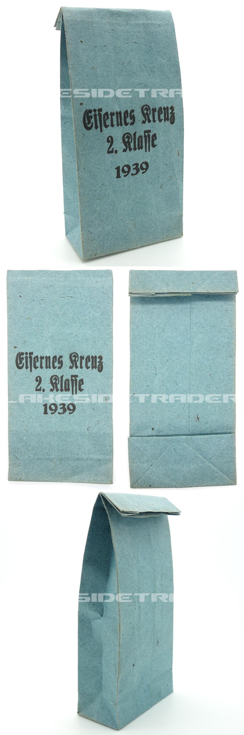 2nd Class Iron Cross Packet/Bag