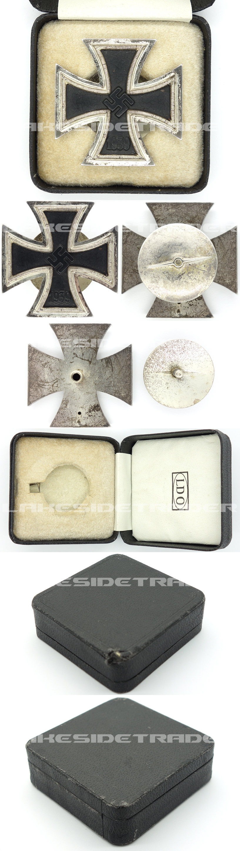 Cased 1st Class Iron Cross by Walter & Hentein