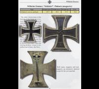 THE Textbook Example ‐ Schinkel 1st Class Iron Cross by W. Deumer