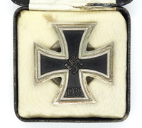Cased Iron Cross 1st Class by L/56