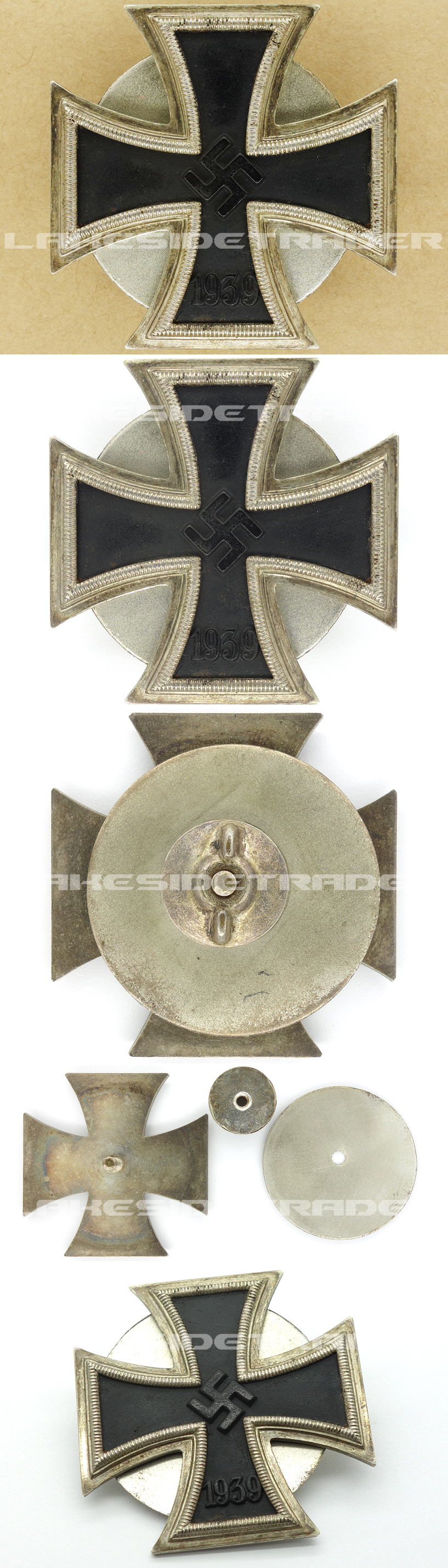 Rare ‐ 1st Class Iron Cross by Otto Schickle