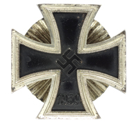 1st Class Iron Cross by Otto Schickle