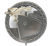 Minty - Navy Blockade Runner Badge by Schwerin