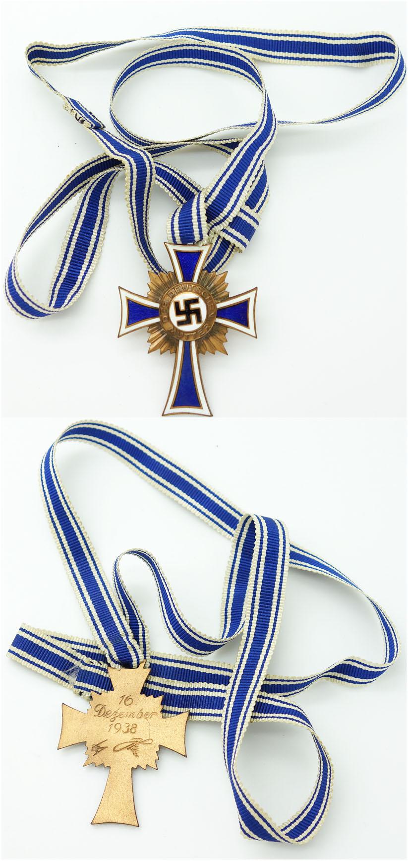 Bronze Mothers Cross