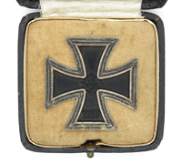 Cased 1st Class Iron Cross by R. Souval