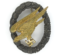 Luftwaffe Paratrooper Badge by GWL