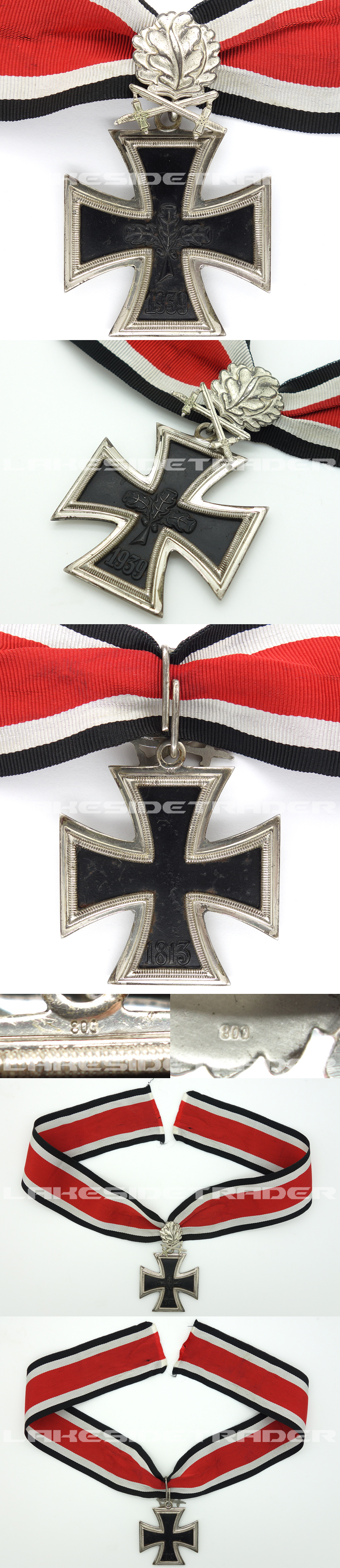 1957 Version – Knights Cross with Oak Leaves and Swords