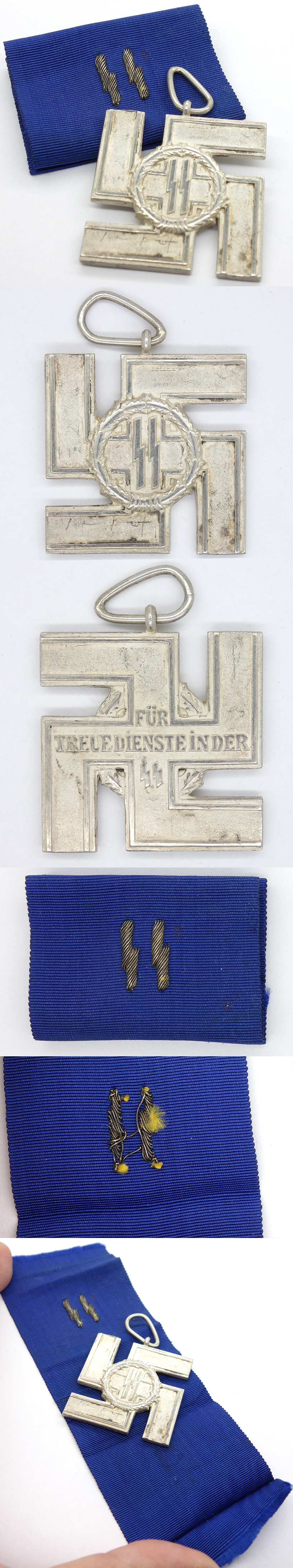 Cased SS 12 years Long Service Award