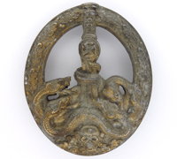 Anti-Partisan Badge in Gold by C.E. Juncker