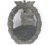 Auxiliary Cruiser War Badge by F. Orth