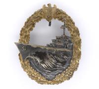 Navy Destroyer War Badge by GWL
