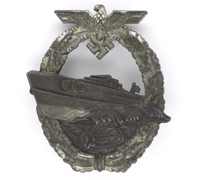 2nd Pattern – Navy E-Boat Badge by Schwerin