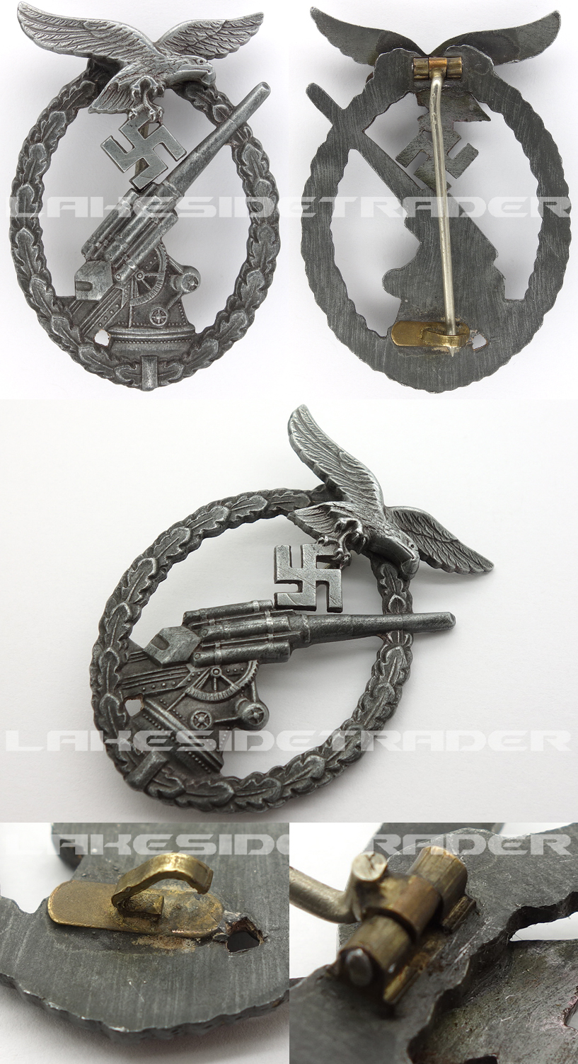 Luftwaffe Flak Badge by Steinhauer & Lück