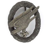 Luftwaffe Paratrooper Badge by S&L