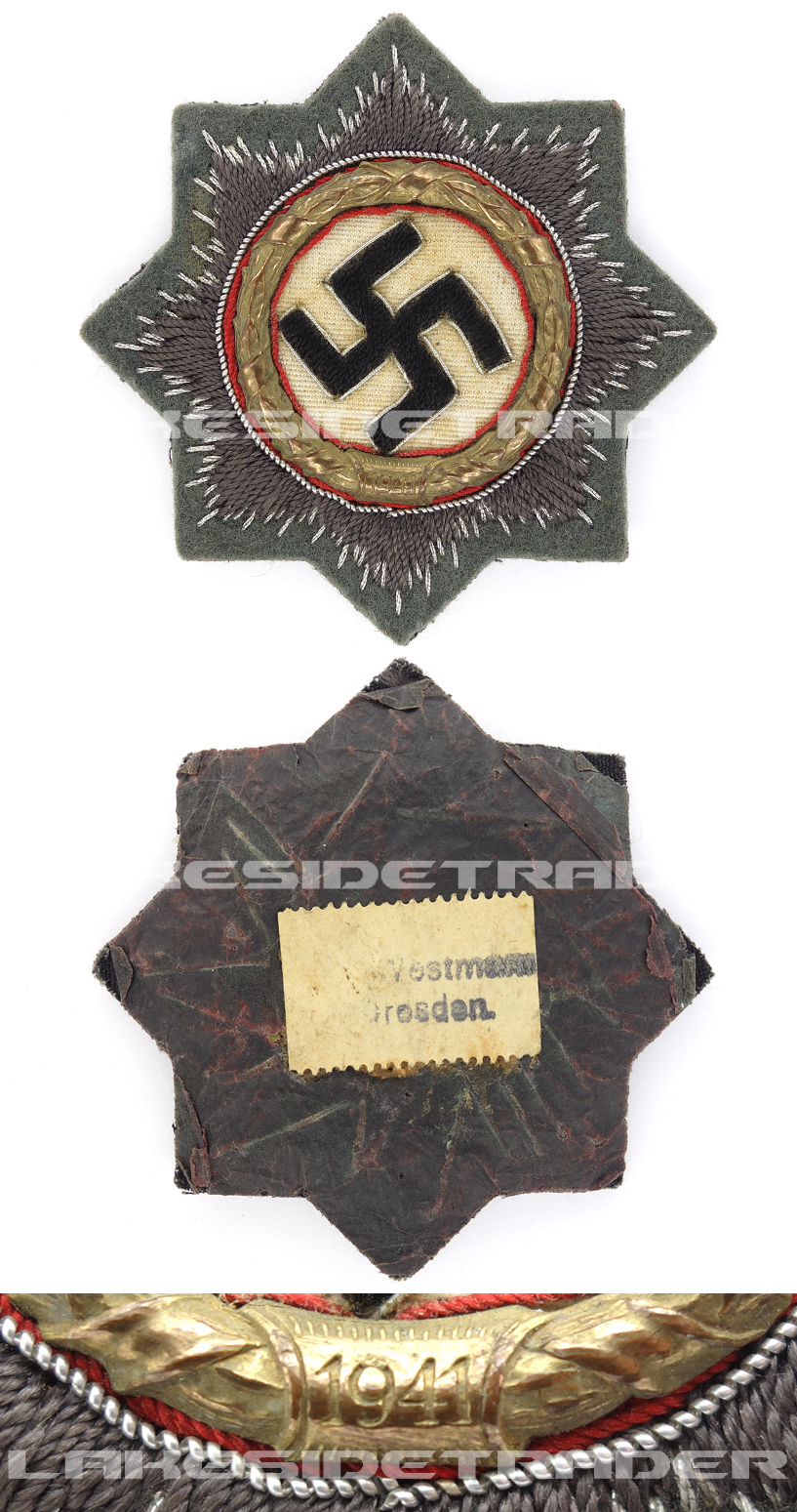 Tagged – Cloth Army German Cross in Gold