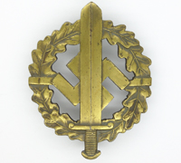Bronze SA Sports Badge by Karl Hensler