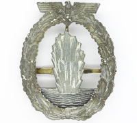 Navy Minesweeper Badge by W. Deumer