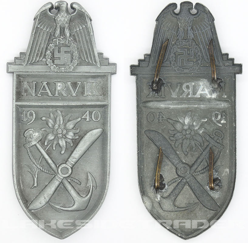 Narvik Campaign Arm Shield by Deumer