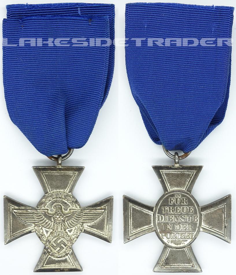 18 Year Police Long Service Award